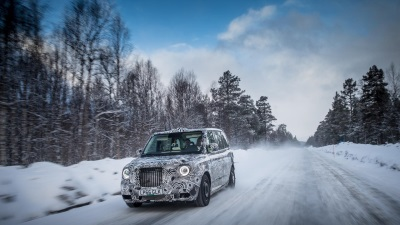 All-New Range Extended Electric Taxi Tested To Extremes In Arctic Circle