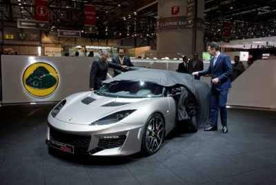 Lotus Evora 400 debuts at the Geneva Motorshow