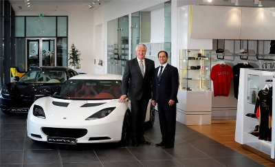 Lotus Cars Opens New Dubai Showroom