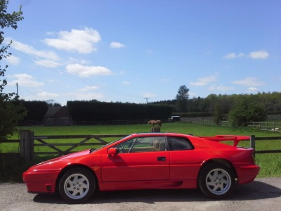 CELEBRATE 40 YEARS OF THE LOTUS ESPRIT WITH RARE 'HIGH WING' MODEL
