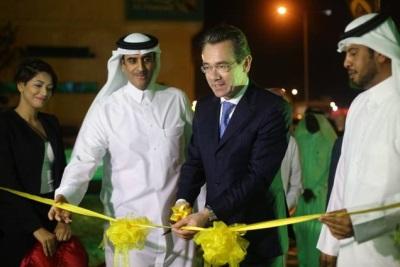 Lotus Qatar Showroom opens with Lotus Evora 400 unveiling