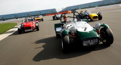Diamond Days For The Lotus Seven
