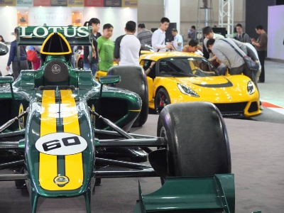 Lotus Gets Supercharged for Guangzhou Motorshow