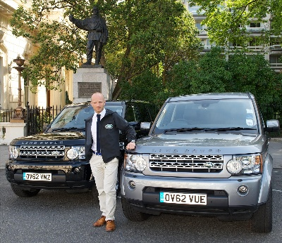Land Rover Supports Ben Saunders' Bid To Complete Captain Scotts' Historic Antarctic Expedition