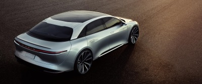 Lucid Air Makes International Auto Show Debut in New York