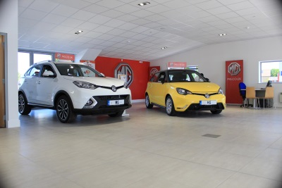 Maidstone MG Lays Building Blocks For Success With New £1 Million Showroom