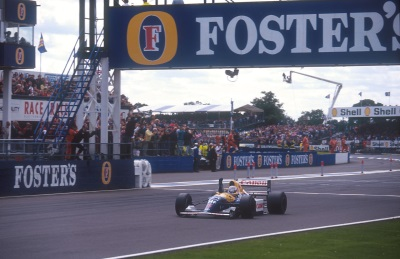 Mansell Mania Returns As Williams Celebrates Its 40Th Anniversary At The Silverstone Classic