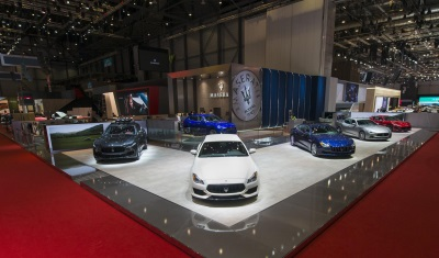 Maserati Granturismo 'Special Edition' And Levante Ermenegildo Zegna Show Car Debuts At Geneva International Motor Show