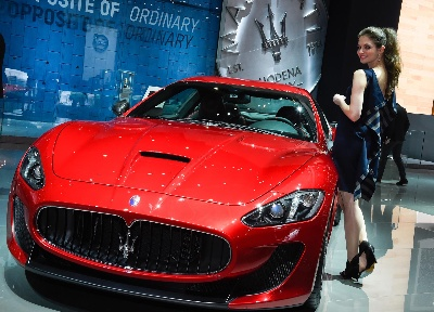 MASERATI AT THE GENEVA MOTOR SHOW