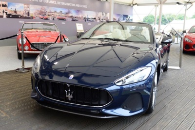 MY18 Granturismo And Grancabrio Star At Goodwood Festival Of Speed