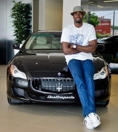 Serge Ibaka Chooses A Maserati Quattroporte Gts During His Stay In Spain