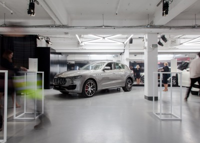Maserati Levante Takeover:Instagram Campaign Celebrated With Immersive Event In London