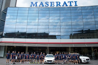 Maserati: Final Stage Of The 2017 Paris-Modena Fundraising Tour