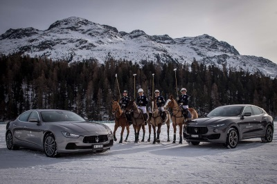 High Octane Start Of The Maserati Polo Tour 2017 At The 'Snow Polo World Cup St. Moritz'