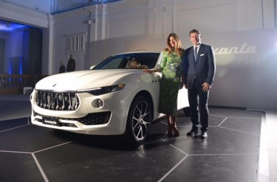 LEVANTE 'THE MASERATI OF SUVS' MAKES ITS UK DEBUT