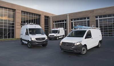 INTRODUCING MASTERSOLUTIONS, A TURN-KEY VOCATIONAL UPFIT SOLUTION FOR METRIS AND SPRINTER VANS