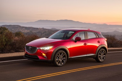 ALL-NEW 2016 MAZDA CX-3 SUBCOMPACT CROSSOVER MSRP TO START FROM $19,960