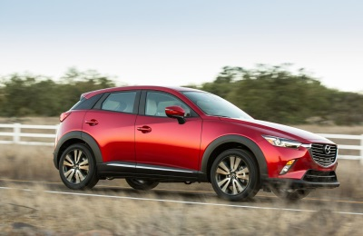MAZDA CX-3 EARNS 2016 IIHS TOP SAFETY PICK+ RATING