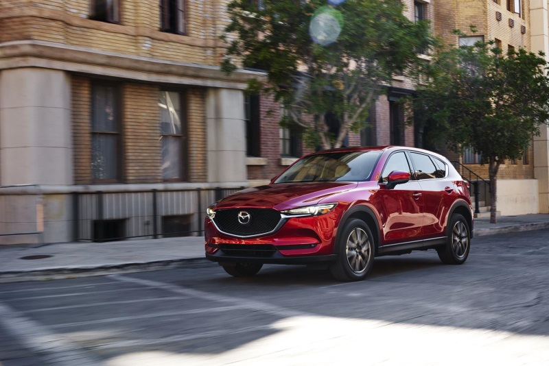 MAZDA TO OFFER DIESEL ENGINE IN ALL-NEW MAZDA CX-5 FOR NORTH AMERICA FROM SECOND HALF OF 2017
