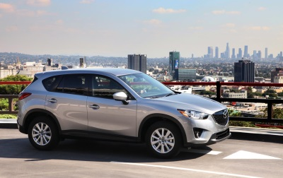2013-2014 MAZDA CX-5 WINS WHEELSTV 2016 PRE-OWNED VEHICLE OF THE YEAR AWARD