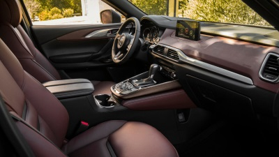 2017 Mazda CX-9 Wins Wards 10 Best Interiors Award
