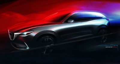 Mazda to Unveil All-New CX-9 Three-Row Midsize Crossover SUV at Los Angeles Auto Show