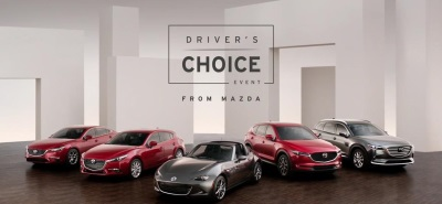 Mazda Launches Driver's Choice Event