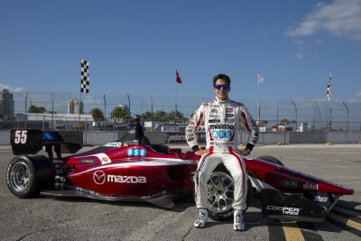 MAZDA ROAD TO INDY RACES INTO THE BRICKYARD