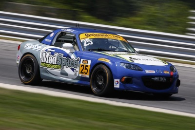 MAZDA DOMINATES WITH 1-2-3 FINISH AT LIME ROCK PARK