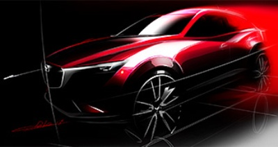 Mazda to Debut All-New CX-3 Compact Crossover SUV at 2014 Los Angeles Auto Show
