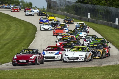 100TH GLOBAL MAZDA MX-5 CUP RACE CAR SOLD