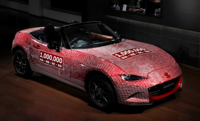 One-Millionth Mazda Mx-5 Returns To Japan After Its World Tour