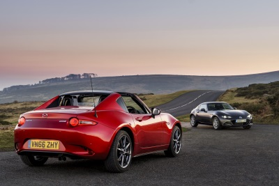 All-New Mazda MX-5 RF Named Roadster Of The Year At The 2017 Auto Express New Car Awards