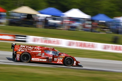 MAZDA MOTORSPORTS PROTOTYPE FINISHES SEVENTH AT ROAD AMERICA