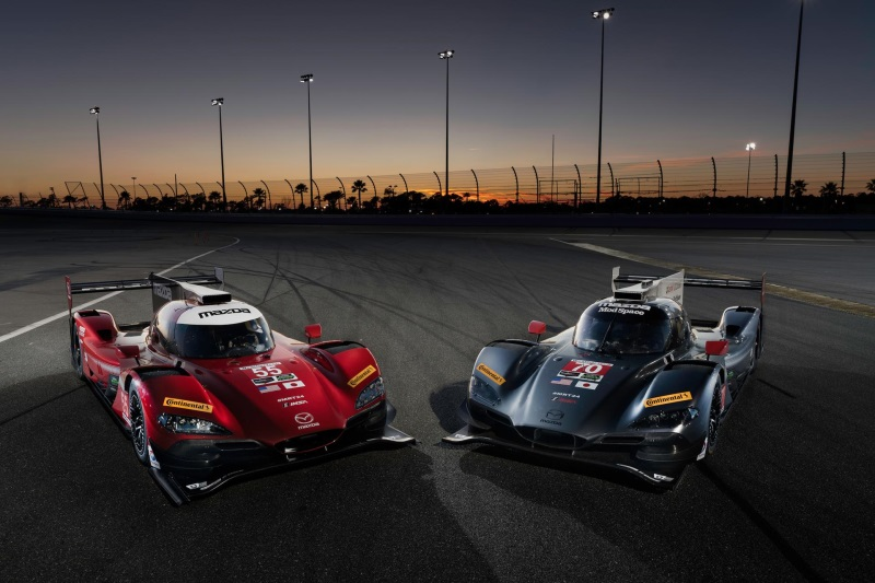 MAZDA PROTOTYPES TO RACE DISTINCT LIVERIES IN 2017