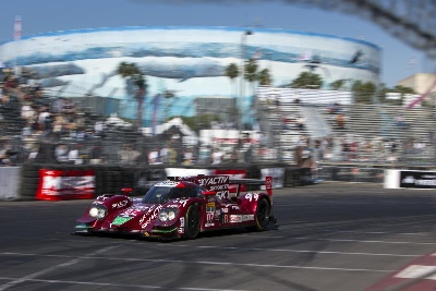SMOOTH, STEADY RUN FOR MAZDA PROTOTYPES AT LONG BEACH