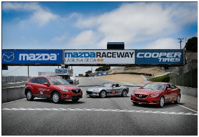 Mazda Raceway Laguna Seca Receives Fleet Of Stylish New 2014 Mazdas