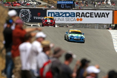 IT'S CALLED MAZDA RACEWAY FOR A REASON