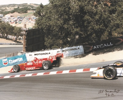 20th Anniversary of The Pass at Mazda Raceway Laguna Seca