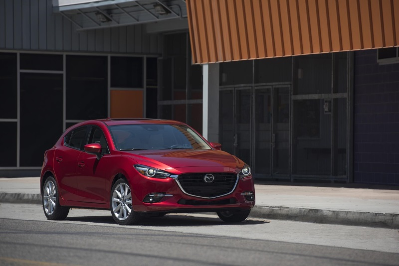 COMPACT CAR, LARGE-SCALE UPDATES: 2017 MAZDA3 ADDS UPMARKET OPTIONS AND GREATER VALUE