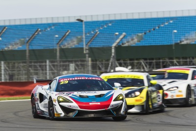 McLaren 570S GT4 Takes Victory In Silverstone 500 And Secures Pro-Am Class Podium Lock-Out