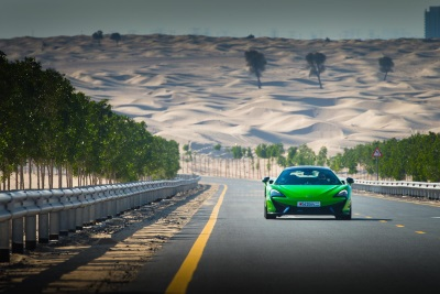 McLAREN 570S COUPÉ CLAIMS THIRD AWARD IN THE MIDDLE EAST WITH VICTORY AT MECOTY 2016