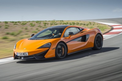 McLAREN 570S NAMED MOTOR TREND'S BEST DRIVER'S CAR OF 2016