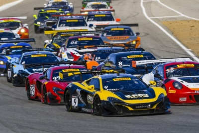 McLAREN 650S GT3 SECURES TRIPLE HONOURS DURING DRAMATIC PIRELLI WORLD CHALLENGE TITLE DECIDER AT LAGUNA SECA