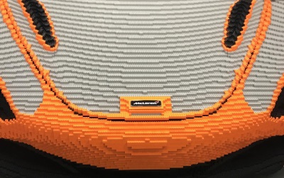 Build Your Own Full-Size Lego® McLaren 720S At Goodwood