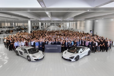 New Era Begins For McLaren Automotive As 720S, The Second-Generation McLaren Super Series, Commences Full Production