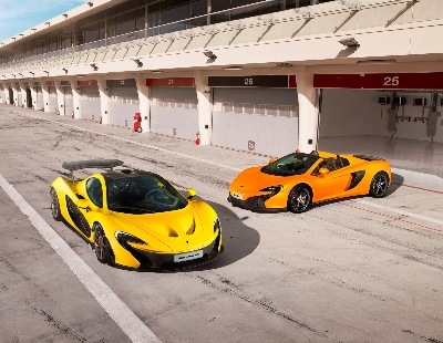McLAREN AUTOMOTIVE RACES AHEAD