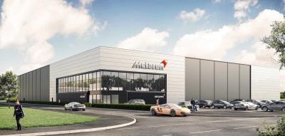 The New Mclaren Automotive Composites Technology Centre
