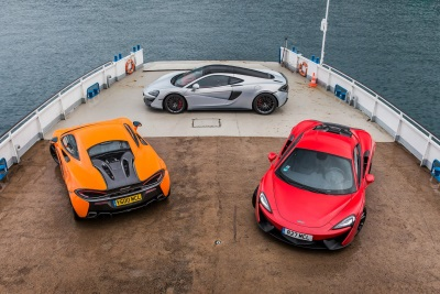 TAKE THE McLAREN FOR THE PRICE OF A RETURN ON THE GATWICK EXPRESS*