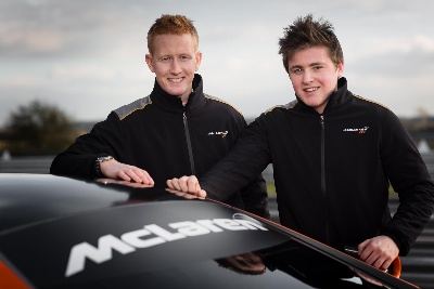 McLAREN GT CONFIRMS YOUNG DRIVER PROGRAMME DETAILS FOR 2015 SEASON